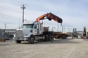 Truck Mounted Crane 001